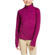 Ariat Lowell 1/4 Zip Youth - Imperial Violet