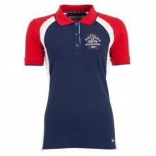 BR Poloshirt Aries - Navy/Rood