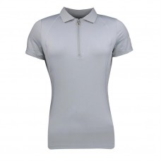 Busse Dames Poloshirt Thesie Tech - Mid Grey