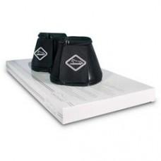 Chetaime Springschoenen Neopreen Leather Look - Zwart