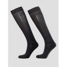 Equiline Sokken Met Studs - Zwart