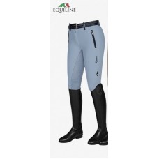 Equiline Rijbroek Full Grip Angy - Light Blue