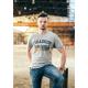 Eskadron Heren T-Shirt Ken-t - Grey Melange