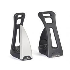 Equiline S1 Safety Stirrup - Zwart/Grijs