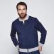 Harcour Heren Sweater Jacket Anaheim - Navy