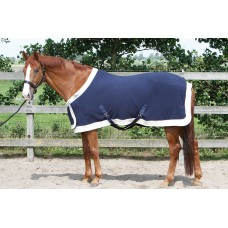 Harry's Horse Fleecedeken Statiemodel - Navy