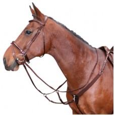 Harry's Horse Voortuig Elastisch - Bruin