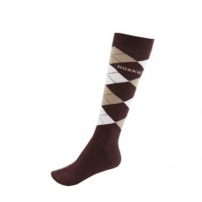Sokken Horka Riding - Dark Brown Beige