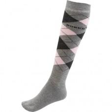 Sokken Horka Riding - Grey/Pink