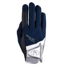 """Roeckl Handschoenen """"Madrid"""" - Navy"""