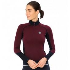 "Spooks Sport Shirt ""Tilda"" - Bordeaux"